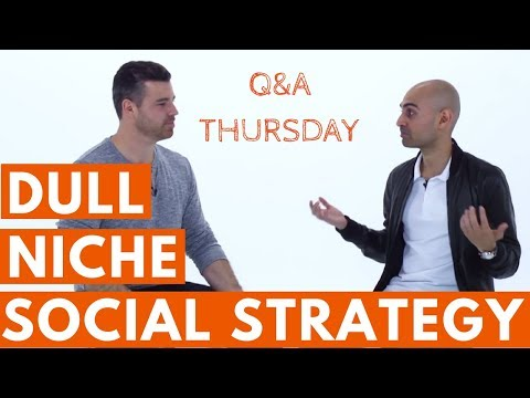 "1 Simple Social Media Strategy for Getting Attention in a ""BORING"" Niche"