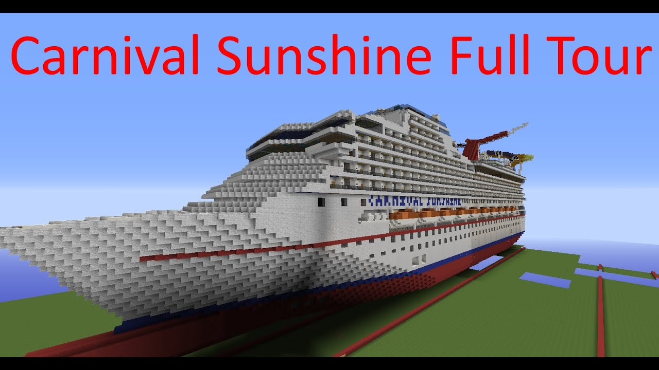 Minecraft Carnival Sunshine  Full Tour  YouTube