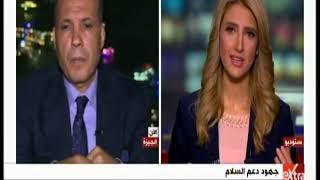 غرفة الأخبار | نائب رئيس تحرير جريدة الأهرام يشرح تفاصيل جهود مصر في حل أزمة جنوب السودان