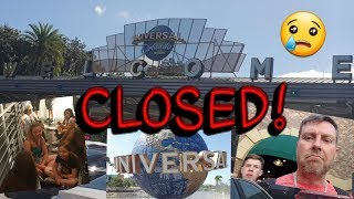 TROUBLE AT UNIVERSAL STUDIOS