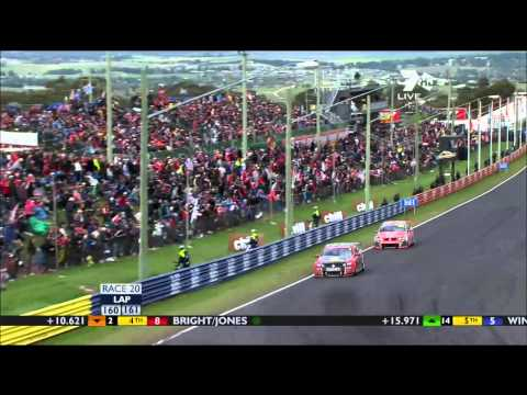 Last 12 Laps of the 2011 Bathurst 1000 SPEED Commentary HD Part 2