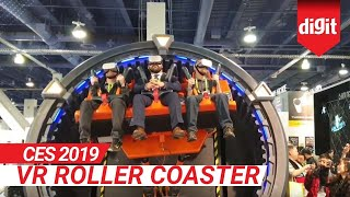 CES 2019: VR Roller Coaster at CES 2019 | Digit.in