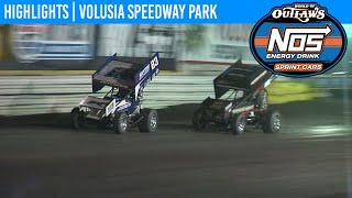 Highlights: World of Outlaws NOS Energy Drink Sprint Cars | Volusia Speedway Park 2/8/20