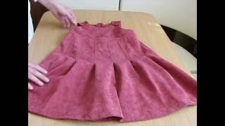 Детский сарафан для девочки 4-7 лет из микровельвета .Обзор.Купить.