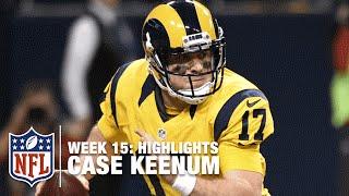 Case Keenum Highlights (Week 15) | Buccaneers vs. Rams | NFL