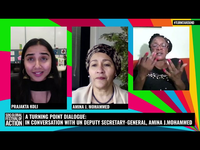 A Turning Point Dialogue: Conversation with UN Deputy Secretary-General, Amina J. Mohammed (French)