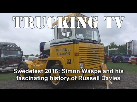 Swedefest 2016: Simon Waspe and his fascinating history of Russell Davies