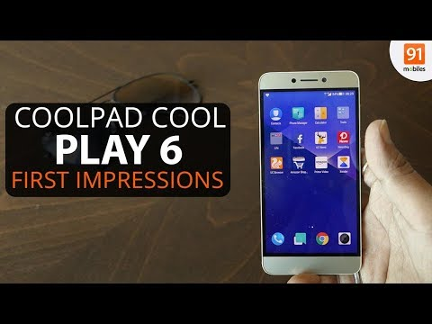 Coolpad Cool Play 6: First Look | Hands on | Launch