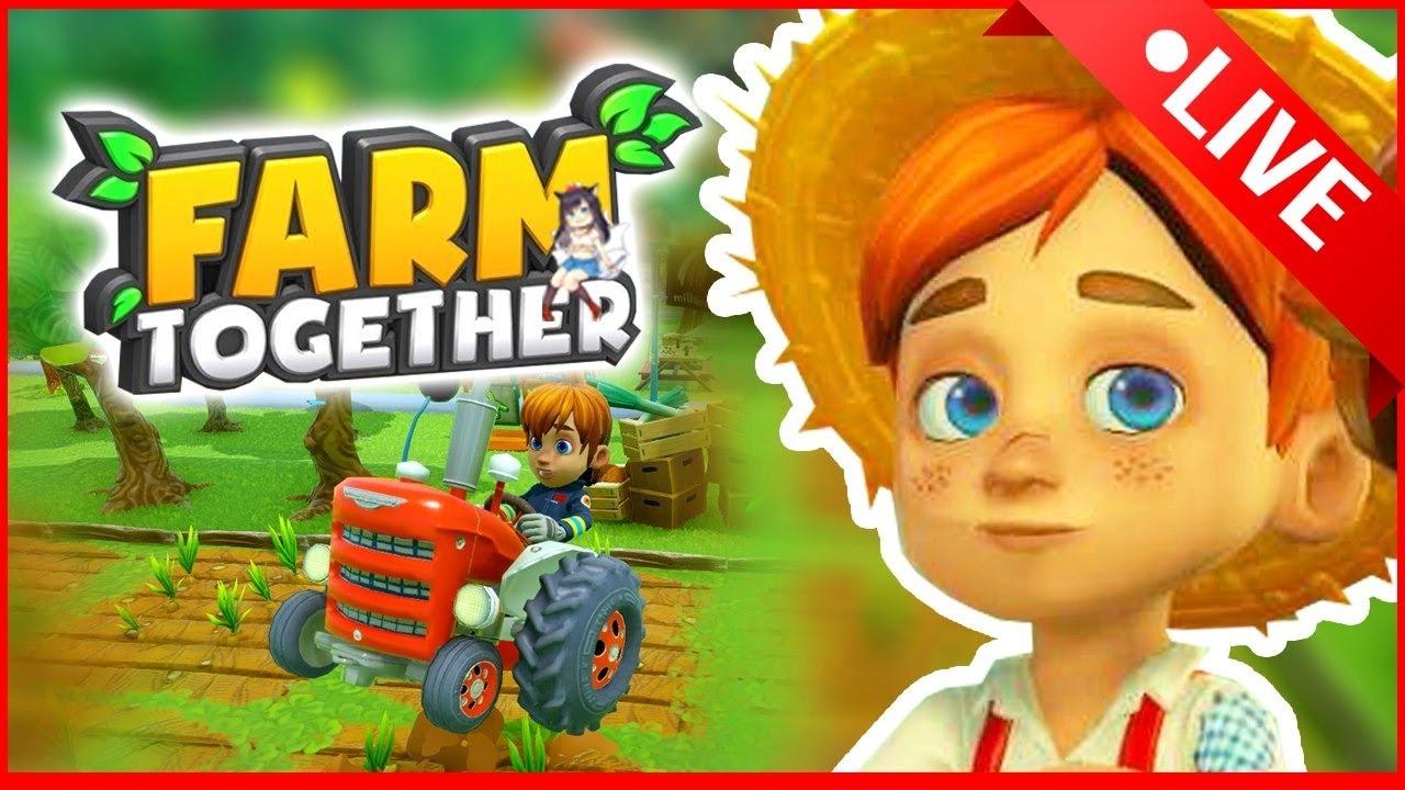 Live ♥ Farm Together | ตัดต้นไม้เพื่อเริ่มต้นใหม่ด้วยกัน #ว่าซันวา