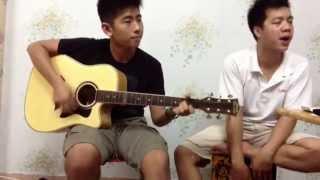 Vệt nắng cuối trời - Hoàng Bách [ guitar acoustic rehearsing ]