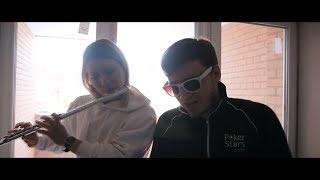 Каста - Скрепы (beatbox flute cover). Марина Панина и Григорий Наделяев