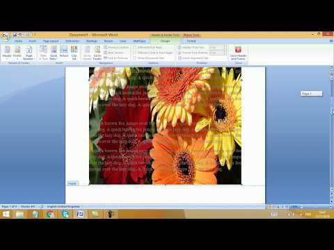 How to resize image watermark in MS Word | How to resize picture watermark in MS Word