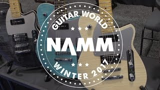 NAMM 2017 - Reverend Guitars - 20th Anniverary Double Agent, Kyle Shutt Signature and More!