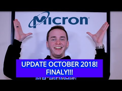 Micron Update | October 2018 | Reached Bottom?