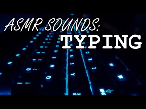 ASMR Sounds: Typing on a Mechanical Keyboard