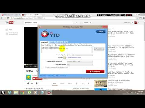 How To Use Youtube Downloader(ytd) 2013!!