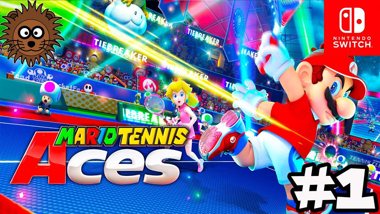 MARIO TENNIS ACES Modo Historia - Nintendo Switch Gameplay en Español #1