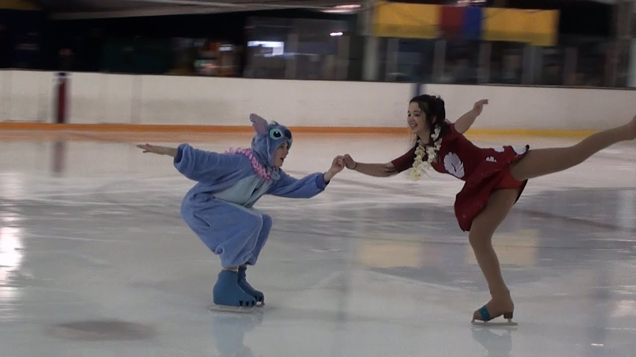 "Disney ""Lilo and Stitch"" fun artistic skate dance to"
