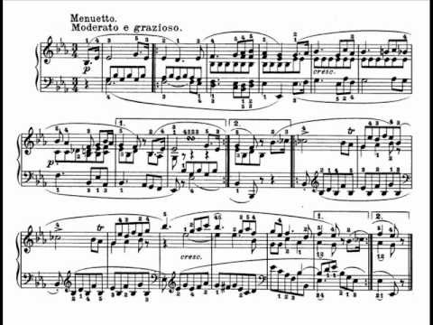 Beethoven piano sonata no. 18 op. 31 in E flat major (Full)