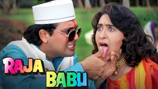 Raja Babu (4K) - राजा बाबू - Full 4K Movie - Govinda - Karisma Kapoor - Bollywood