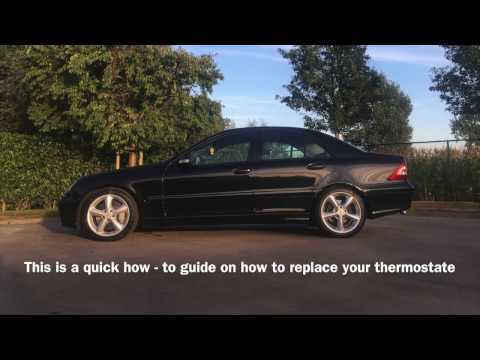 Mercedes C220 CDI thermostat replacement