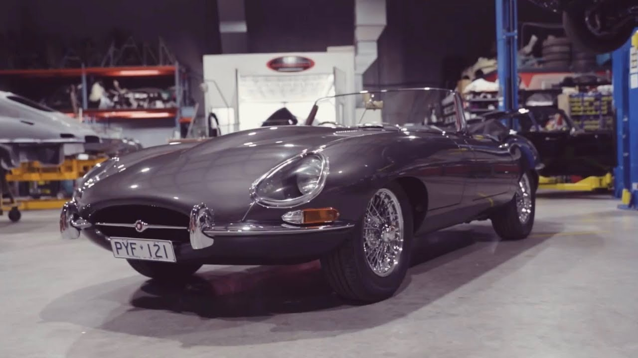 Jaguar E-Type  - Shannons Club TV - Episode 112
