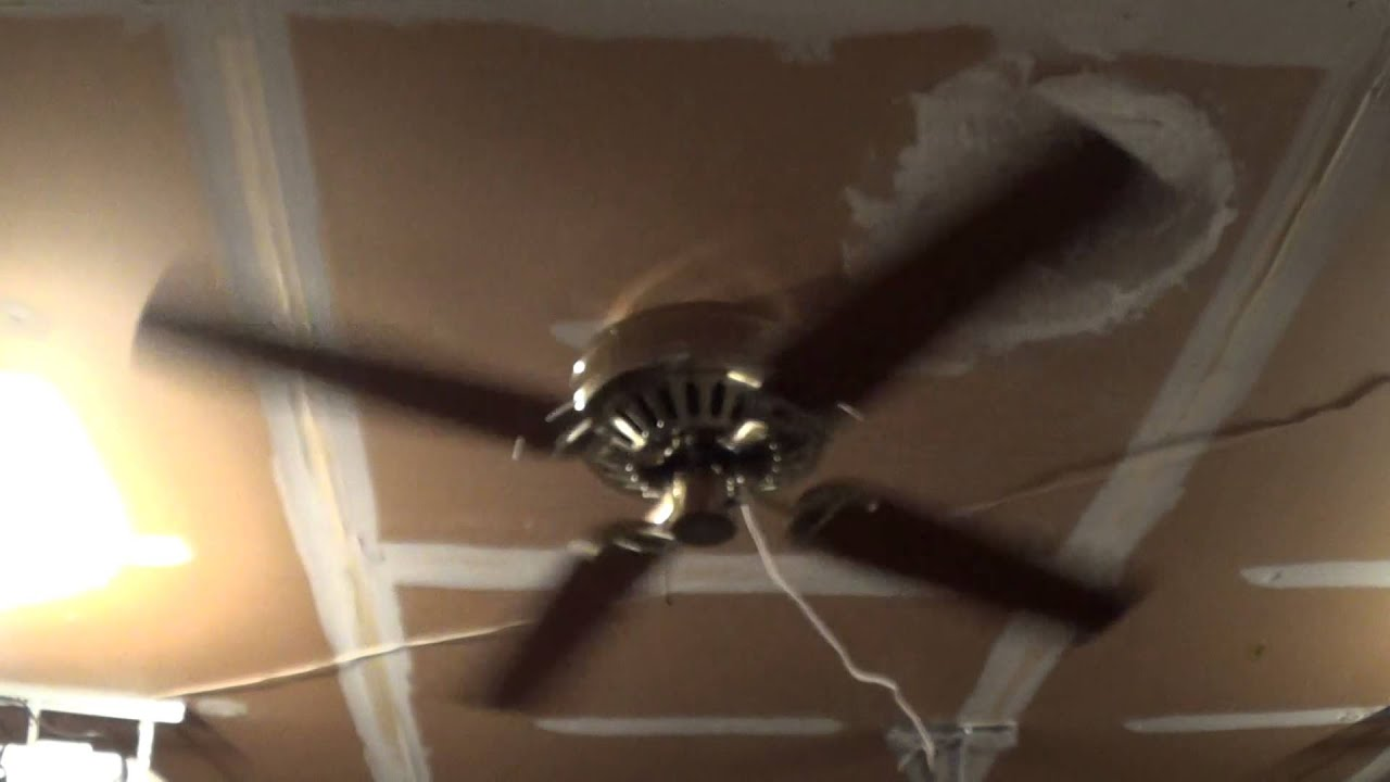Hunter Low Profile Ceiling Fan (Remake) - YouTube