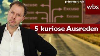 Die 5 kuriosesten Ausreden vor Gericht: Ich brauche Alkohol 🍷 🍺!  Rechtsanwalt Christian Solmecke