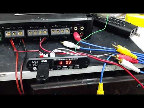 Teste Do Modulo Mp3 Fm Bluetooth