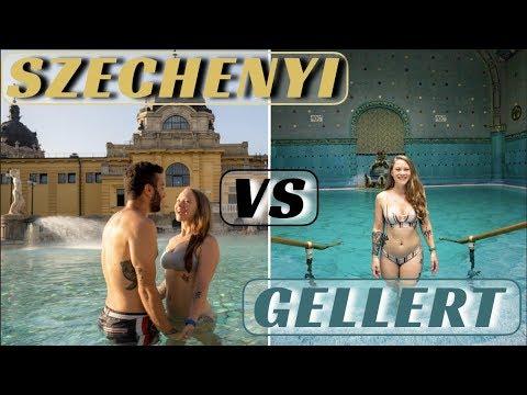 Best Bath In Budapest   Szechenyi Vs Gellert In Budapest