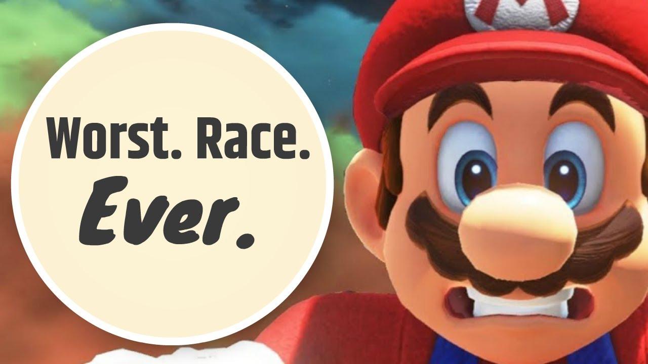 I HAD THE WORST RACE ON MARIO KART 7 EVER!