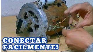 Motor  6 cables Identificar sin multimetro-6 wires washer motor How to identify without multimeter