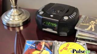 Jensen Digital AM/FM Stereo Alarm Clock Radio with CD Player (JCR-310)