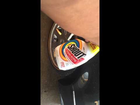One coat Vogue Tyre cleaning . 3weeks of dirt wash strait off 1 of 3 videos .
