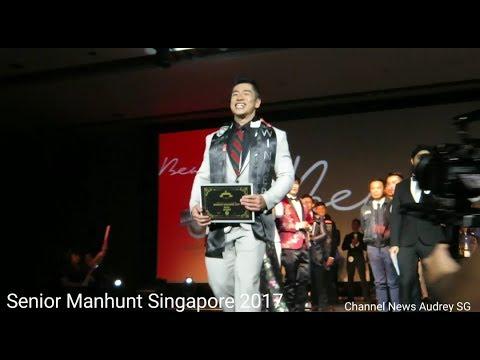 Senior Manhunt Singapore 2017 - Winner Damien Koh