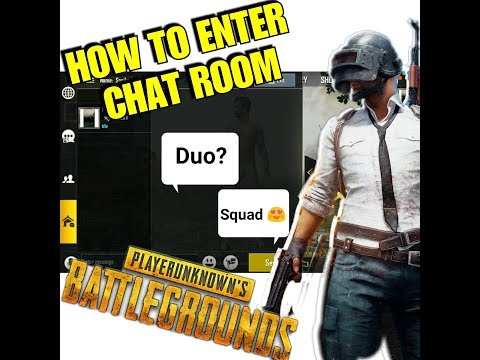 How To Enter Or Create Chat Room In PUBG | Chat With Friends | Complete Mission [CHECK DESCRIPTION]