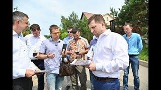 Губернатор Сергей Фургал посетил проблемные объекты жилищного строительства в Хабаровске