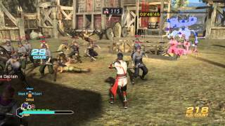 Dynasty Warriors 8: Empires PS4 60FPS HD Gameplay Compilation