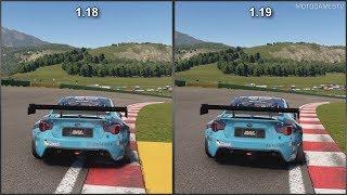 �������� ���� GT Sport - Patch 1.18 vs 1.19 - Subaru Falken Tire / Turn 14 Distribution BRZ - Sound Comparison ������