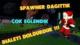 Minecraft So-Skyblock İhale Doldurma Rekoru + Spawner Eventi | DangerYusuf |