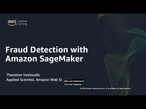 Fraud Detection with Amazon SageMaker