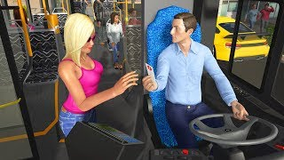 Bus Game Free - Bus Simulator Games - Crazy Bus Driving Android Gameplay