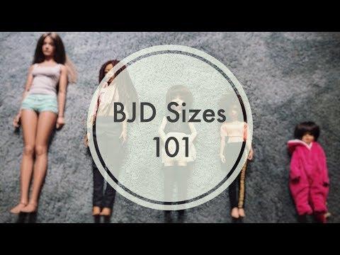 BJDs 4 Newbies   BJD Sizes 101