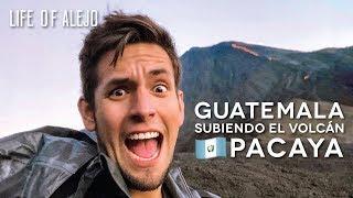VOLCÁN PACAYA: Cocinando con Lava en Guatemala?!   Life of Alejo