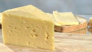 """Сыр """"Российский""""// рецепт приготовления."""