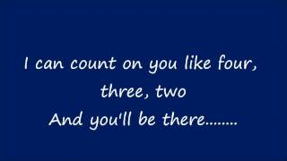 Count On Me - Lyrics