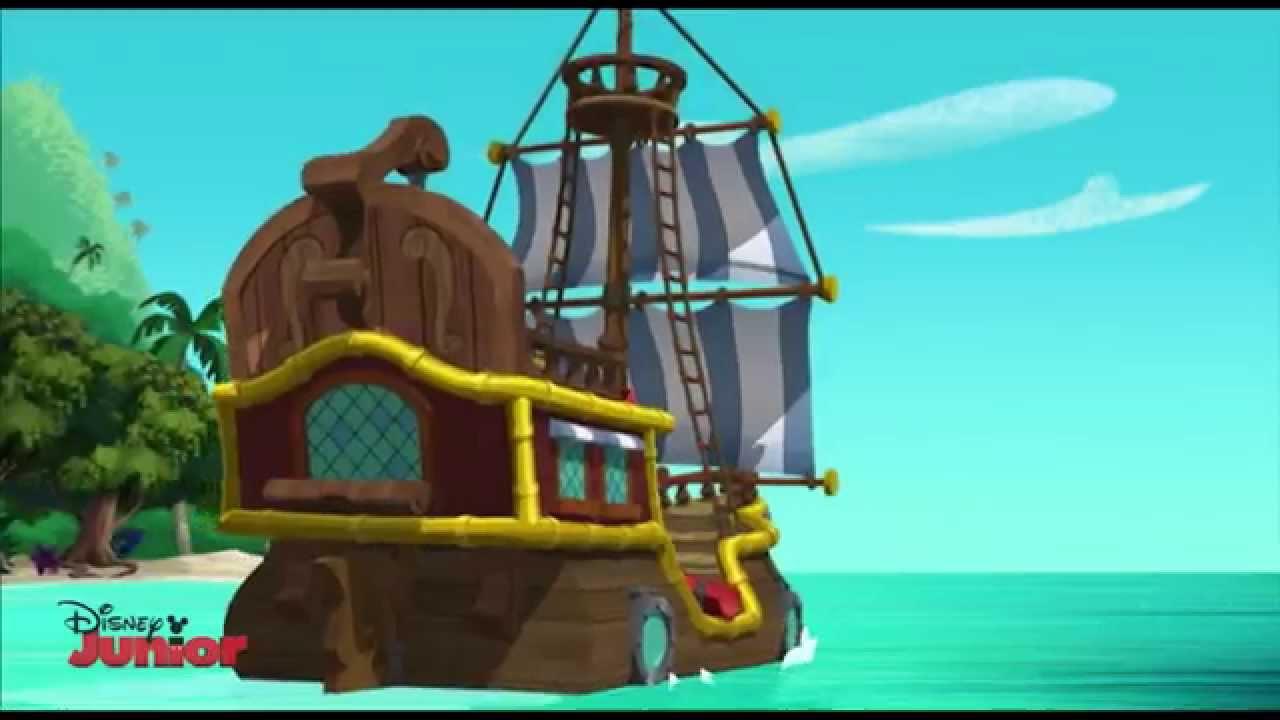 jack og piraterne skib