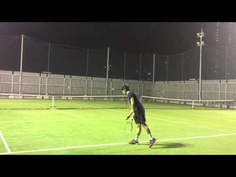 Andrew Sun - College Tennis Recruiting Video 2017