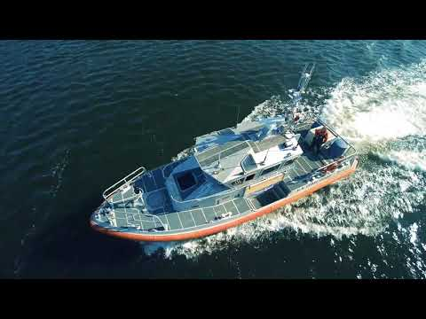 Drone imagery of Coast Guard Station Curtis Bay