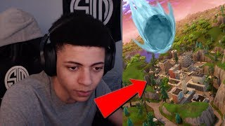 Myth Reacts To METEOR HITTING DUSTY DEPOT, NEW SKINS/EMOTES & NEW BATTLE PASS! *FORTNITE SEASON 4*